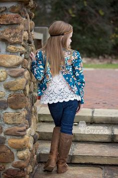 Braxton's Blazer. PDF sewing patterns for girls sizes 2t-12 - Simple Life Company