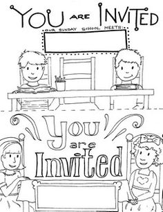 Sunday School Registration Form | biz card | Pinterest ...