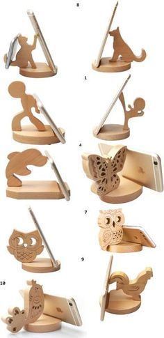 Funny Wooden Animal...