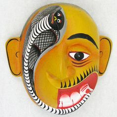 Deafness Demon Mask-19