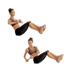 15 Minute HIIT Abs Workout you can do at home! This is a killer workout. Tone-and-Tighten.com