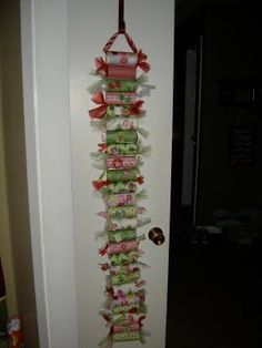 Toilet Paper Roll Advent by lesley