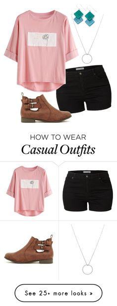 """""""Casual"""" by secret-girl02 on Polyvore featuring LE3NO, WithChic, Roberto Coin and Encanto"""