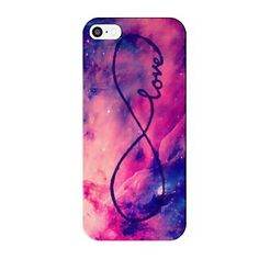 Infinity Sky Pattern Protective Hard Case for iPhone 5/5S  – USD $ 2.99