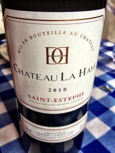 El Alma del Vino.: Château La Haye 2010.