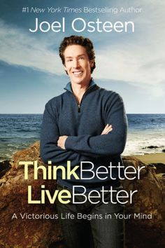 Bestselling author Joel Osteen shares how reprogramming your thoughts to remove negativity will lead to a more blessed, fulfilled life. Your mind has incredible power over your success or failure. THINK BETTER, LIVE BETTER offers a simple yet life-changing strategy for erasing the thoughts that keep you down and reprogramming your mind with positive thinking to reach a new level of victory. As a child of the Most High God, you are equipped to handle anything that comes your way.