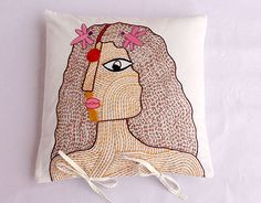 "Check out new work on my @Behance portfolio: ""Hand embroidery . Cushion cover . Livelihood."" http://be.net/gallery/57305413/Hand-embroidery-Cushion-cover-Livelihood"