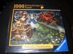 Amazon.com: Ravensburger 1000 Piece Jigsaw Puzzle~CINDERELLA'S TRANSFORMATION: Toys & Games