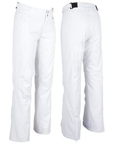 Women's ski and snowboard pant. Your articulate boyfriend, Cody. These pants are mid rise, have a relaxed fit, adjustable waist tabs, articulated knees and self fabric scruff guards. Gain a new boyfriend this winter, Cody's a keeper! WATERPROOF- 20,000mm. BREATHABLE- 15,000g
