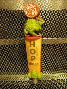 NEW BELGIUM BREWING Co ~ Hop Kitchen ~ Hoppy Aviator ~ Beer Tap Handle