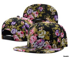 edb5349fe83 print cash Picture - More Detailed Picture about Men Women Floral Digital  Print 6 Panel Baseball hat