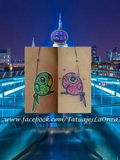 Bird. Tattoo. Colors. Tatuaje. Aves. Colores. Tatuajes. La Onza. Tatuador. Mexico. Tattoo Artist. Cuautla. Morelos. Mexico