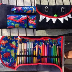 Dino pencilcase for my daughter