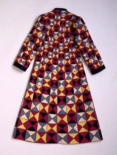 little augury: Patchwork, Elsa's Eschia evening coat from Spring 1930, wool and silk