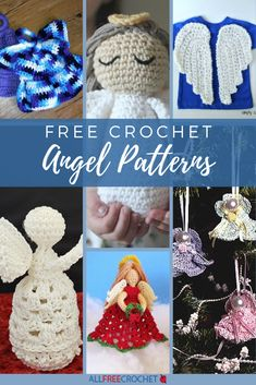 Wonderful Diy Crochet Angel Ornaments With Free Pattern - Page 2 of 31 - Free Crochet Patterns Crochet Angel Pattern, Free Crochet Doily Patterns, Dishcloth Knitting Patterns, Christmas Crochet Patterns, Crochet Ornaments, All Free Crochet, Crochet Snowflakes, Angel Ornaments, Diy Crochet