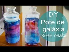 Galaxy bottle