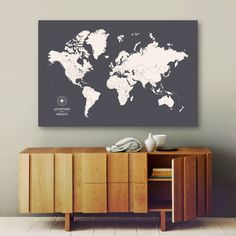 Albyden art brown and silver world map collection other pinners loved these ideas gumiabroncs Gallery