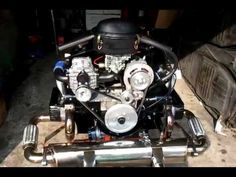 Type 1 Supercharged VW Beetle Engine 1600cc Turbo