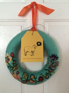 Fall 2014 collection. #needle felted wreaths