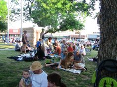 Twilight Tunes starts tomorrow! With free concerts every Thursday night on the Courthouse lawn who wouldn't want to head to the Square?