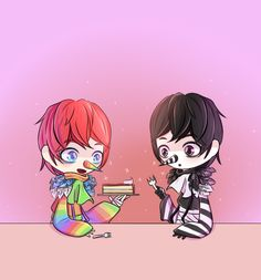 rainbow,Laughing Jack by pppsua on DeviantArt