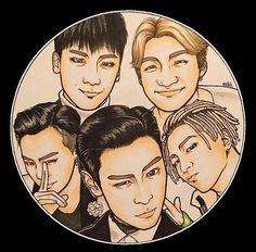 #fanart #bigbang #TOP #GD #taeyang #seungri #daesung