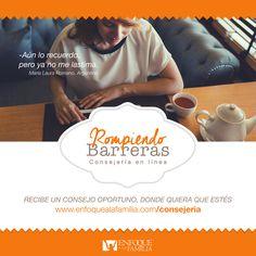 Regístrate en www.enfoquealafamilia.com/consejeria, agenda tu cita y listo!