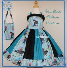 Disney Princess MERIDA Brave  Dress Purse BBCB by sarahBBCB, $40.00