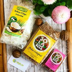 3 retete cu cereale pentru micul dejun Snack Recipes, Healthy Recipes, Snacks, Rapunzel, Quinoa, Chips, Eat, Desserts, Food