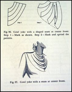 Dress Design: Draping and Flat Pattern Making, use hand painted fabric on the fold area