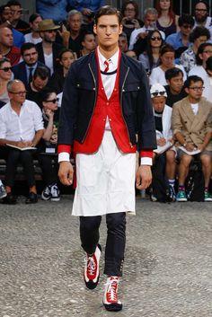 Moncler Gamme Bleu Spring 2015 Menswear Fashion Show