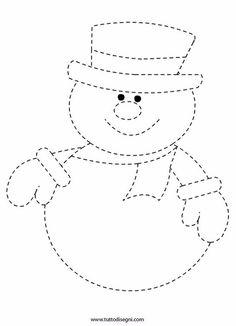 Prickeln vorlage winter 2019 - Tipss und Vorlagen Sketching photos using only dog pen are Felt Christmas, Christmas Colors, Winter Christmas, Christmas Decorations, Christmas 2019, Winter Crafts For Kids, Winter Kids, Felt Crafts, Holiday Crafts