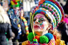 Deze schmink creatie is geheel in stijl met de uitvoering. Carnaval by [ o ] luclodder photography