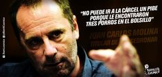 Juan Carlos Molina, Titular de Sedronar. #Justicia #ViolenciaInstitucional #Marihuana // #Frases #Citas