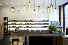Aveda Store featuring Niche Modern Pendant Lights