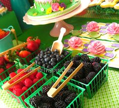 Garden Theme Dessert Table