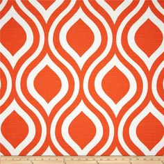 Premier Prints Emily Slub Tangelo from @fabricdotcom  Screen printed on cotton slub duck (slub cloth has a linen appearance); this versatile medium weight fabric is perfect for window accents (draperies, valances, curtains and swags), accent pillows, duvet covers, upholstery and other home decor accents. Create handbags, tote bags, aprons and more. *Use cold water and mild detergent (Woolite). Drying is NOT recommended - Air Dry Only - Do not Dry Clean. Colors include white and orange.
