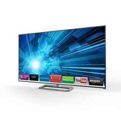 VIZIO Smart LED HDTV - The all-new M-Series diag.) Razor LED Smart TV with Theater has arrived with an ultra-modern design, brilliant picture quality, and a new, faster VIZIO Internet Ap Tv 40, Online Shopping, Shopping Deals, Go Tv, Software, Internet Tv, Tv Reviews, Amazon Reviews, Smart Tv