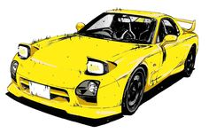 RX-7 FD3S by Koebi