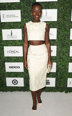 Lupita Nyong'o  The Oscar nominee shows some skin at the 7th Annual Essence Black Women in Hollywood Luncheon.