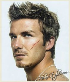 ey-yi-yi David Beckham - mens #Haircut