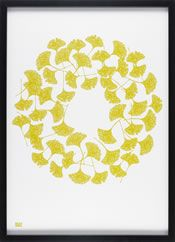 so want this! - Ginkgo print by Bold & Noble