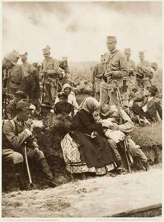 Szívet tépő! Búcsúzik a baka az első világháború idején.