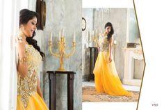 Sunny yellow&gold zarri work