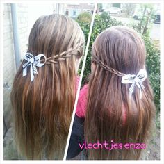 Scissor waterfall #cutegirlshairstyles #cutehairstyles #girlyhairstyles #braidsforgirls