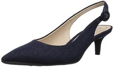 LifeStride Womens Pearla Pump Dark Blue 55 M US * Click image for more details. (This is an affiliate link)