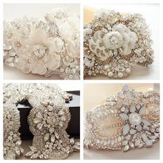New Oct-13 collection of bridal sashes and belts