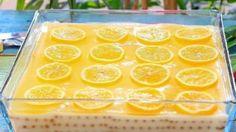 Limonlu Muhallebi Tatlısı Tarifi