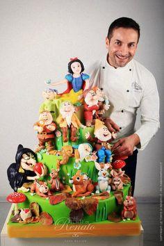 Le Torte di Renato- Snow White and the 7 Dwarfs