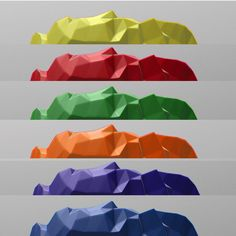 Bracciale High Rocks di Printmyjewel su Etsy #printmyjewel @printmyjewel